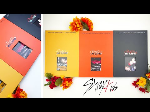 Unboxing Stray Kids, In生/In Life, (Versions A, B, & Limited Edition) | asmr style, no talking