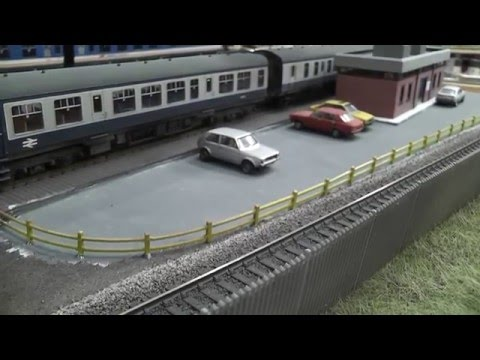 Building a Model Railway – Part 12 – Depot Office & Car Park