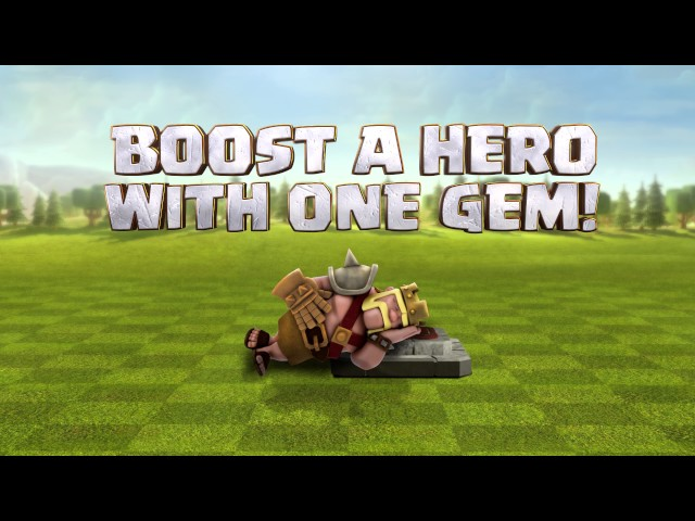 Clash of Clans Valentine's Day Hero Boost