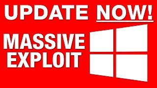 "🚨 EMERGENCY VIDEO 🚨: Windows 10 ""MEGA EXPLOIT"" Found - Update IMMEDIATELY!"