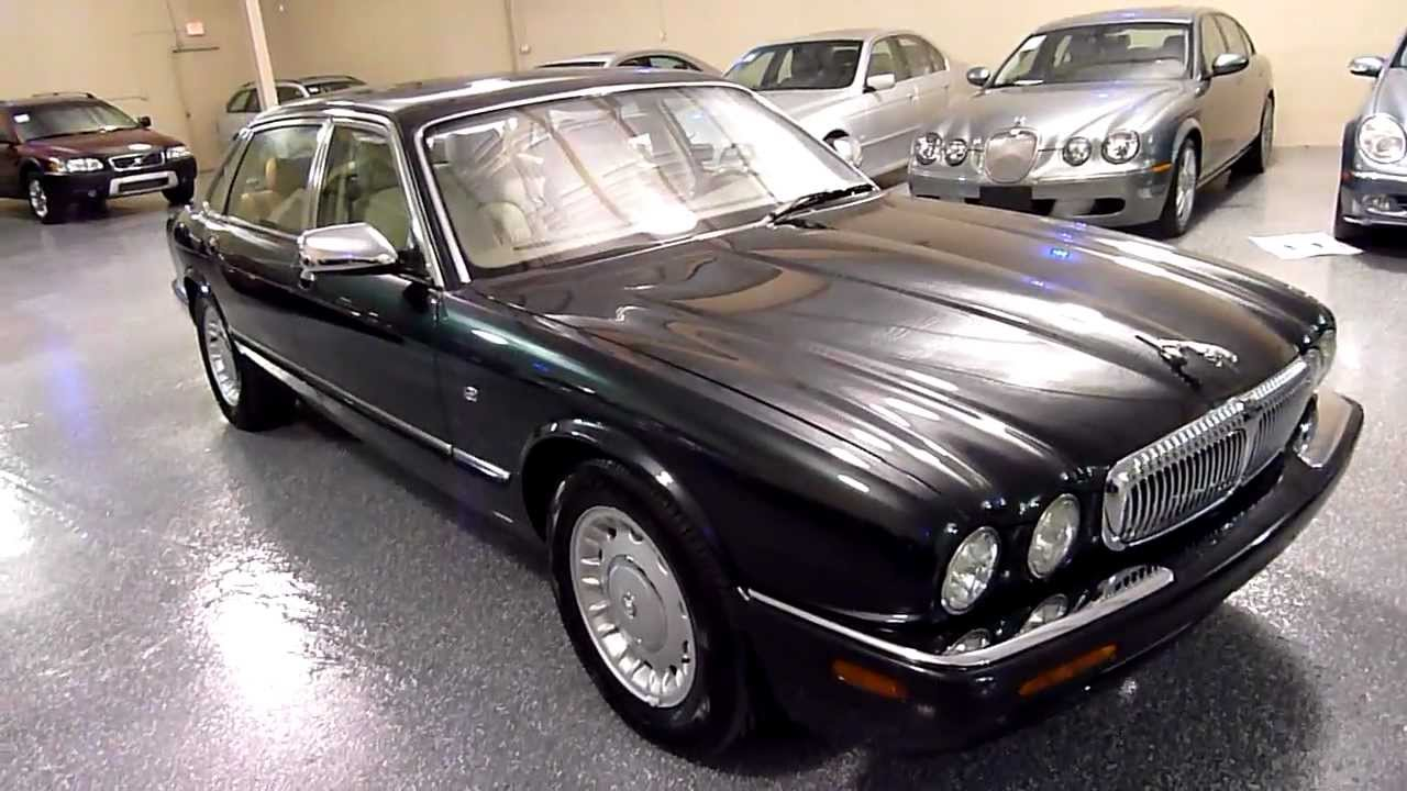 1998 jaguar xj 4dr sedan vanden plas (#2097) (sold) - youtube