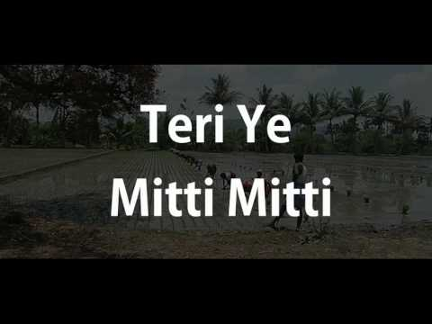 Mitti Back to the roots, Title song