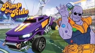 PIMP MY ROCKET LEAGUE RIDE - MEME CARS