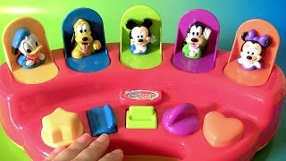 A Casa do Mickey Pop-Ups Brasil ToysBR | Disney Baby Mickey Mouse Clubhouse Pop-Up Pals Donald BR