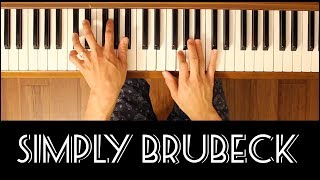 It's a Raggy Waltz (Simply Brubeck) [Early-Intermediate Piano Tutorial]