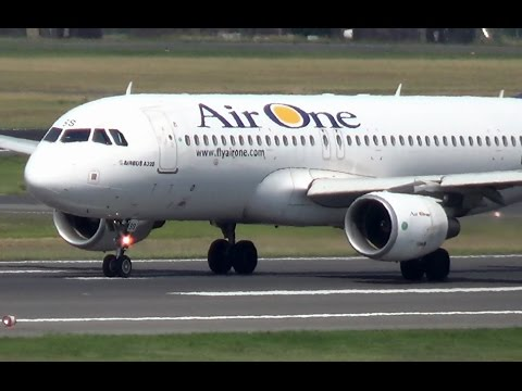 Air One A320-216 [EI-DSS] - takeoff @ Berlin-Tegel Airport! (1080p)