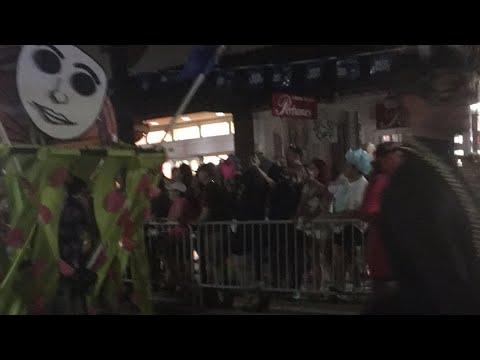 Live. Fantasy Fest Parade