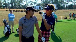 Closest to the Pin: Camilo, GMac, Poults & Watson on the 17th at TPC Sawgrass