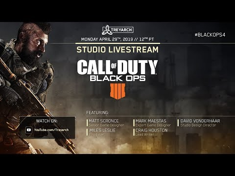 Official Call of Duty®: Black Ops 4 – Studio Livestream: Operation Spectre  Rising