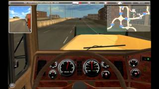 Let's Play 18 Wheels of Steel: American Long Haul - Nashville to Thunder Bay part 1/4
