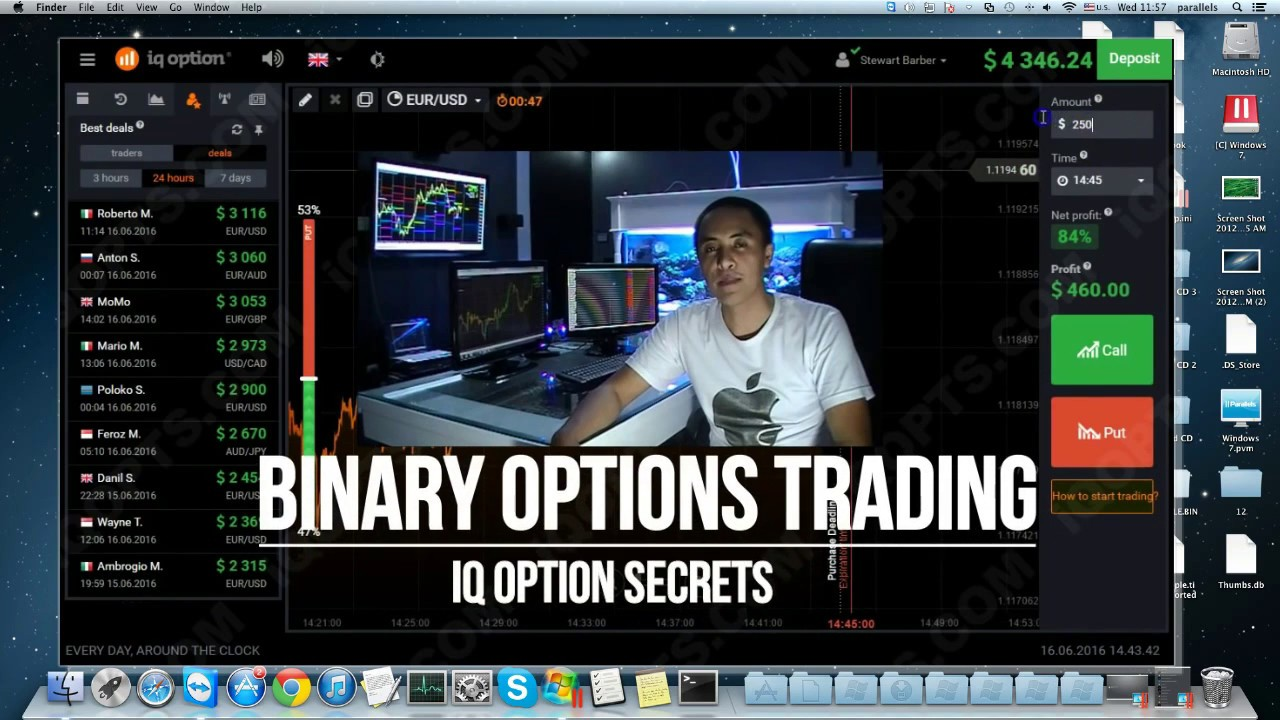 Online binary trading sites