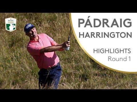 Pádraig Harrington Highlights | Round 1 | 2018 Dubai Duty Free Irish Open