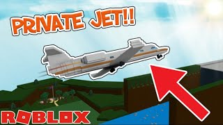 [TUTORIAL] How to make a PRIVATE JET in Build a Boat!! | ROBLOX