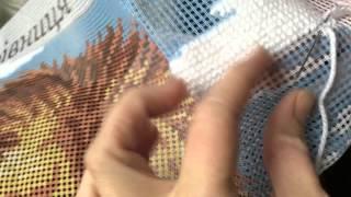 Вышивка в технике гобелен  Как я вышиваю гобеленовый стежок на канве крупного аккаунта!(Видео по запросу от Светланы Абакаровой., 2016-04-26T08:29:09.000Z)
