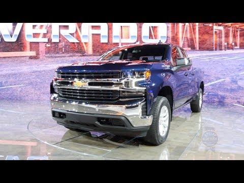 2019 Chevrolet Silverado - 2018 Detroit Auto Show