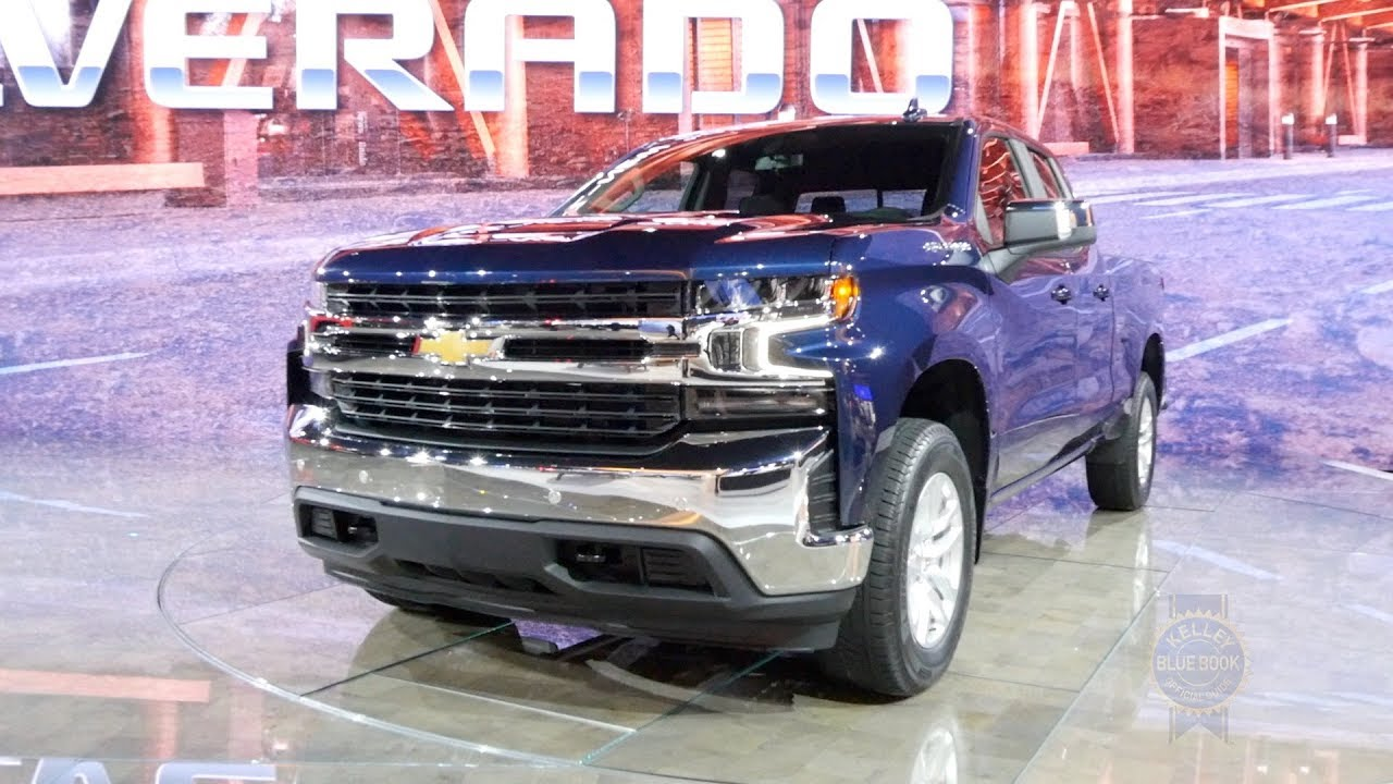 2019 Chevrolet Silverado 2018 Detroit Auto Show Youtube