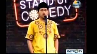 Ustadz Ambia @ Stand Up Comedy Indonesia Metro TV Show