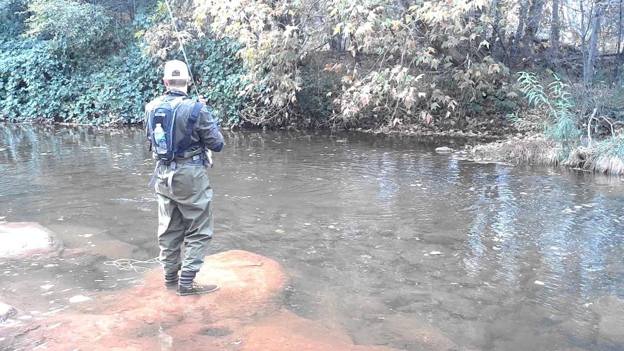 Fly fishing sedona az youtube for Fishing in az