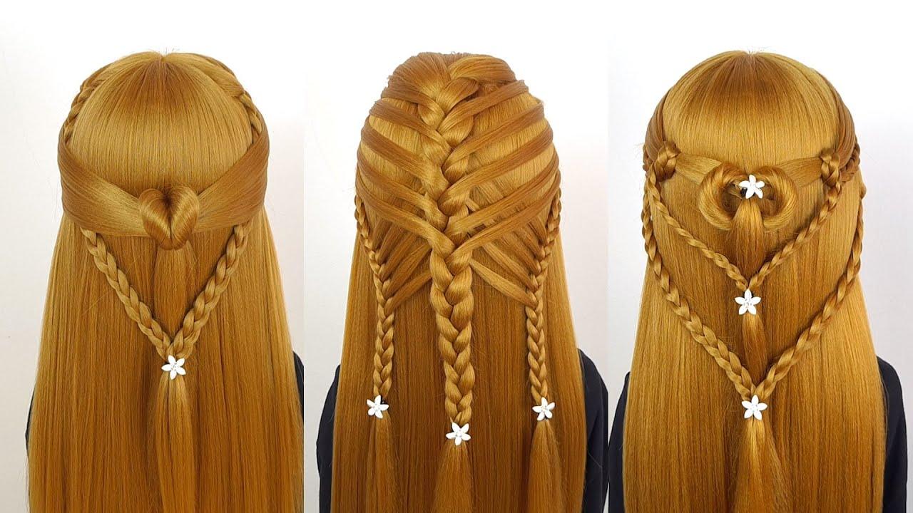 36 Kiểu tết tóc đẹp đơn giản dễ làm cho bạn gái | Easy Braided Hairstyles For Girls | Long Hair #1