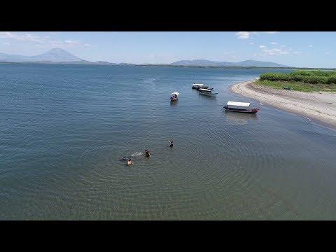 Punta San Juan lugares paradisiacos de El Salvador Puerto El Triunfo Bahia de Jiquilisco Usulutan
