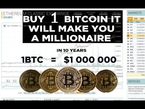Bitcoin Can Go To $1,000,000 Dollars
