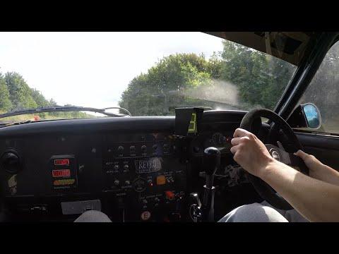 1980 Ford Escort MK 2 2.5 - Millington Race Engine   POV Passenger Drive