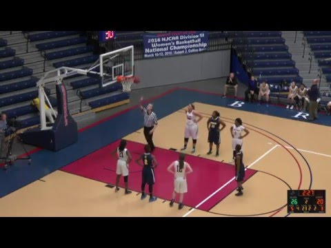 Brookdale Women's Basketball vs Cumberland County College february 20,2016