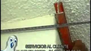 Instalacion de molduras de unicel, poliestireno, para decoracion de interiores y exteriores