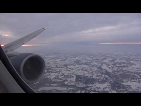 Delta 757-200 landing at Minneapolis/St Paul MSP