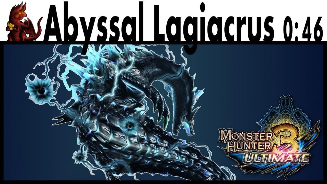 Mh3u Abyssal Lagiacrus Speedrun 0 46 Youtube