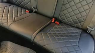 видео Модельные чехлы Toyota LAND CRUISER 80 черные