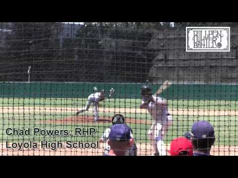 Chad Powers Prospect Video, Loyola High School