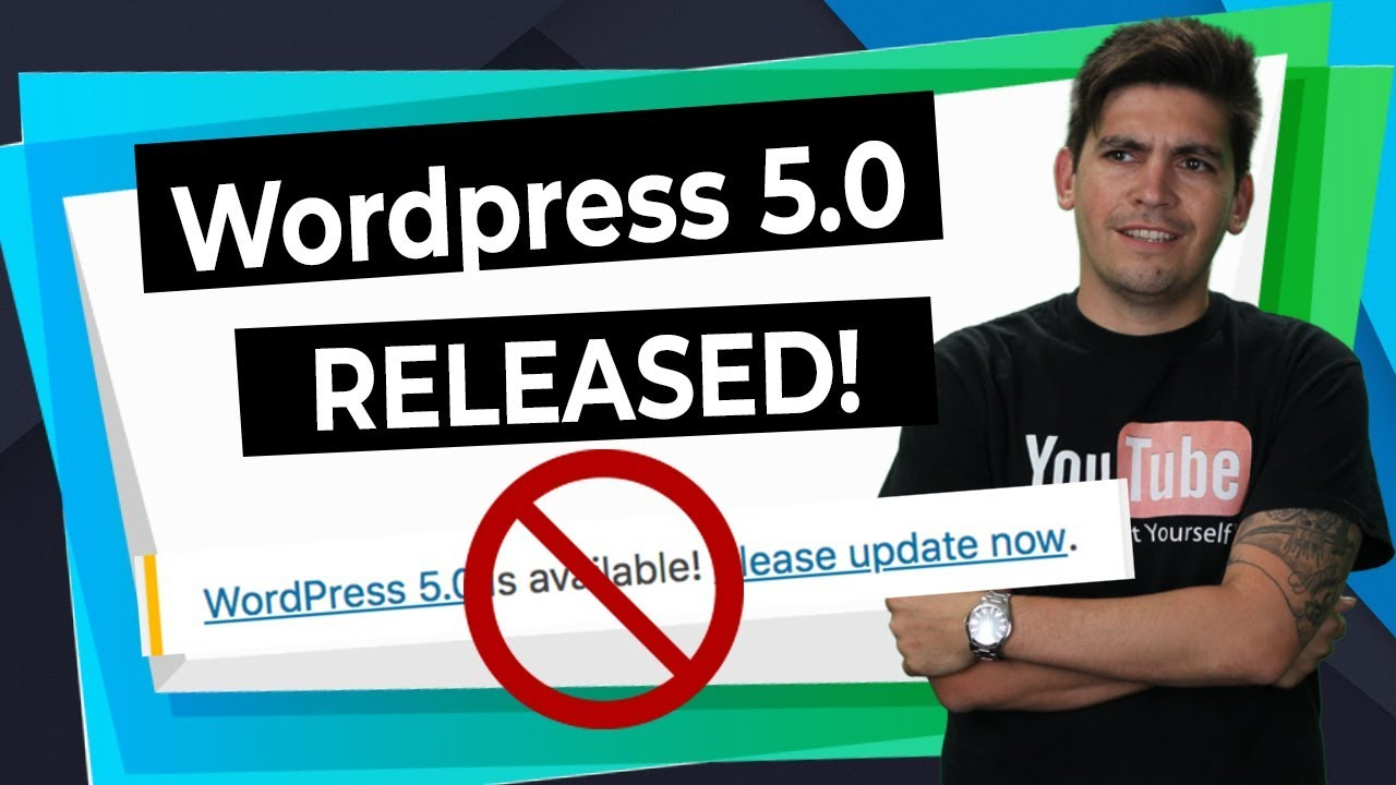 Wordpress Gutenberg 5.0 RELEASED: DONT UPDATE! - Divi Theme, Elementor and Brizy TESTED!!