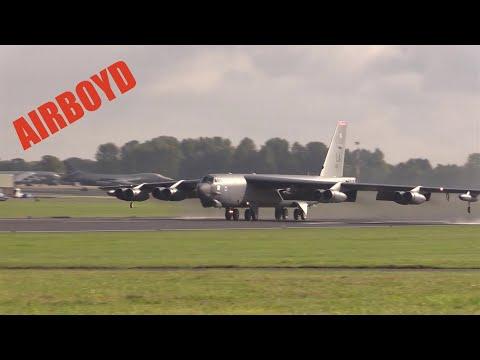 B-52 Flight Operations At RAF Fairford