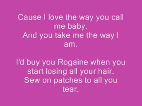 Take Me The Way I Am (With Lyrics)