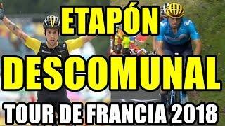 ROGLIC, MIKEL LANDA Y ANDREY AMADOR NOS REGALAN UN ETAPÓN BRUTAL!! ETAPA 19 TOUR DE FRANCIA 2018