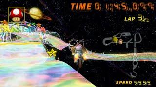 [MKWii TAS] Rainbow Road (Glitch) - 1:45.077
