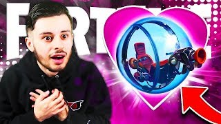 I LOVE TOMBE OF THE NEW SECRET VEHICLE ON FORTNITE! IT'S AMAZING... 😱