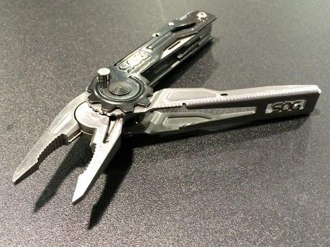 Sog Switch Plier Multi Tool Tooth Lock And Blade Light Folder Edc
