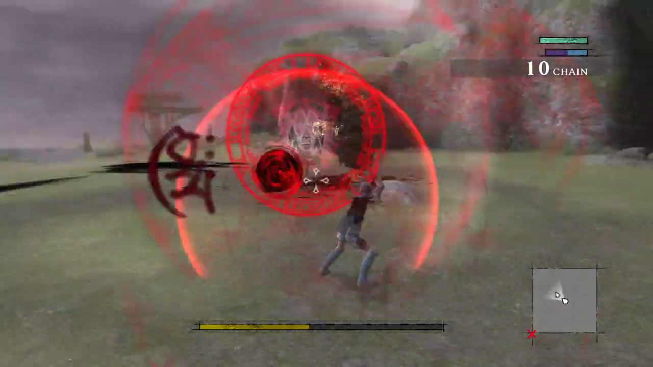 Nier Replicant (PS3/RPCS3) - Hard Mode: One hit = death. Mini-boss - Demon Gestalt - YouTube