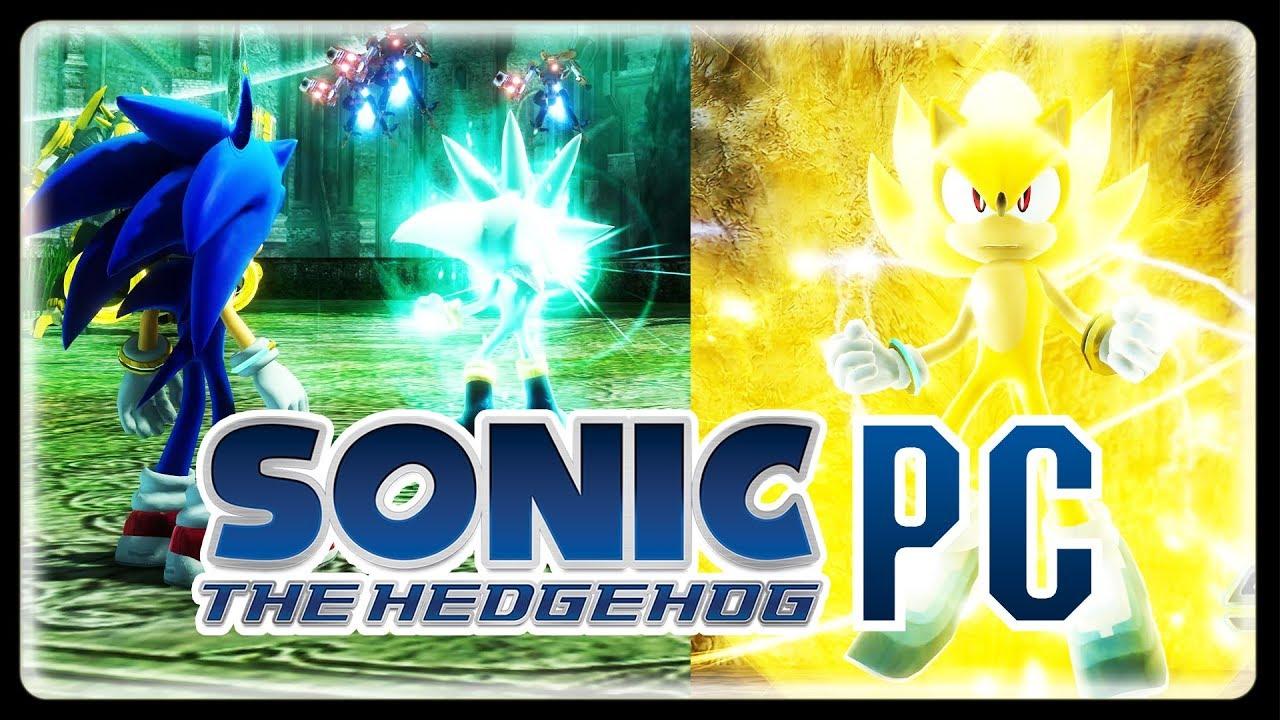 Sonic 06 PC Remake 2019 (P-06) - Super Sonic & All Gems! (4K/60fps)  #WaveOcean #KingdomValley