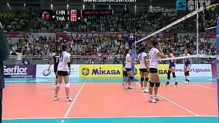 วอลเลย์บอลหญิงไทย - จีน (4)
