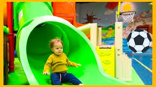 Amazing FUN SLIDES at Kids Playground and Best Nursery Rhymes Songs For Children