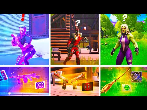 Fortnite Update New Bosses, Mythic Weapons & Vault Locations Guide in Season 4 Fortnitemares Update