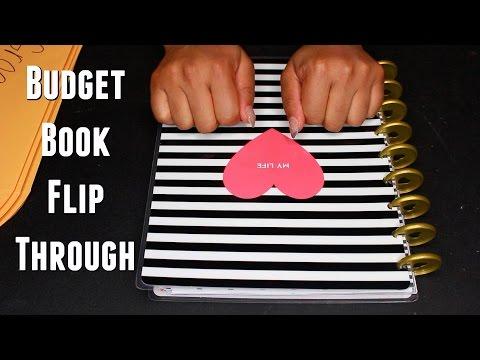Keeping My Finances Organized | Budget Book Set Up and Flip Through