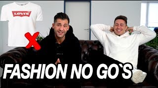 FASHION NO GO`s #3 | mit KILIAN JONAS