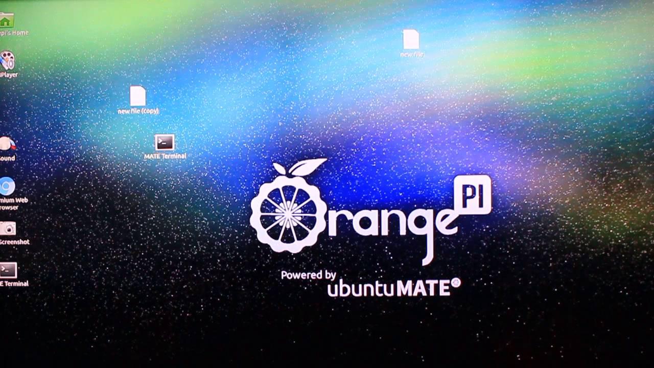 Orange pi one Ubuntu Mate 16 04 boot