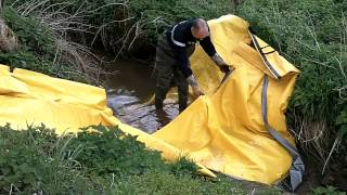 barrage deci rivière watergate sdis creuse