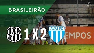 Ponte Preta vs Avai FC full match