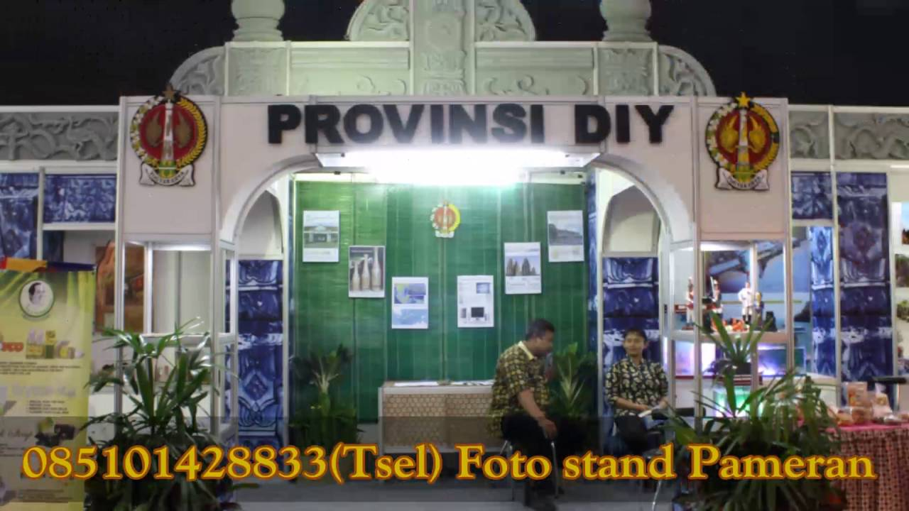 Foto Stand Pameran Youtube